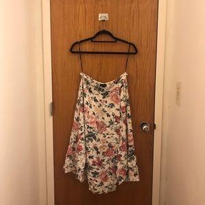 NWT Luxury Majorelle Flattering Floral Midi Skirt